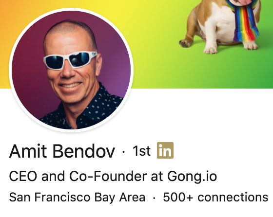 LinkedIn profile photo