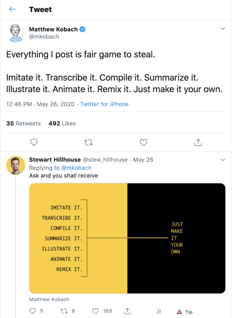 twitter case study comment example
